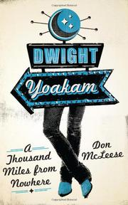 Book Cover for DWIGHT YOAKAM