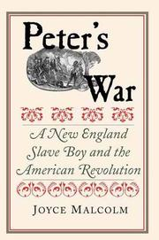 PETER'S WAR by Joyce Lee Malcolm