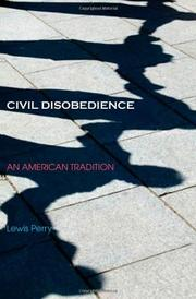 CIVIL DISOBEDIENCE by Lewis Perry