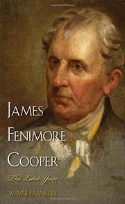 JAMES FENIMORE COOPER by Wayne Franklin