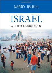 ISRAEL by Barry Rubin