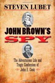 JOHN BROWN'S SPY by Steven Lubet