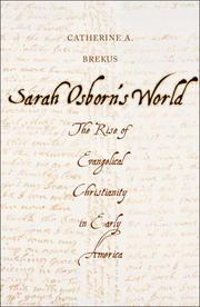 SARAH OSBORN'S WORLD by Catherine A. Brekus
