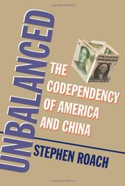 UNBALANCED by Stephen Roach