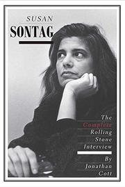 SUSAN SONTAG by Jonathan Cott