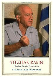 YITZHAK RABIN by Itamar Rabinovich