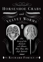 Book Cover for HORSESHOE CRABS AND VELVET WORMS
