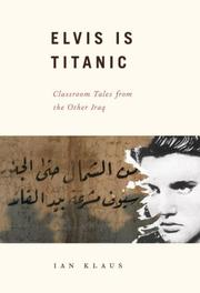 ELVIS IS TITANIC by Ian Klaus