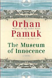 Cover art for THE MUSEUM OF INNOCENCE