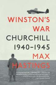 Cover art for WINSTON'S WAR