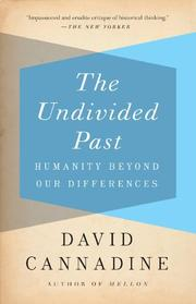 Book Cover for THE UNDIVIDED PAST