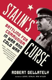 Cover art for STALIN'S CURSE