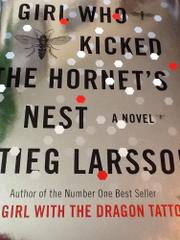 Cover art for THE GIRL WHO KICKED THE HORNET'S NEST