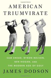 Cover art for AMERICAN TRIUMVIRATE