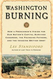 Cover art for WASHINGTON BURNING