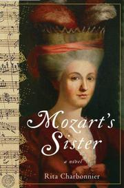 Cover art for MOZART'S SISTER