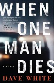 Cover art for WHEN ONE MAN DIES