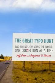 THE GREAT TYPO HUNT by Jeff Deck