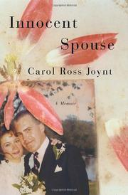 INNOCENT SPOUSE by Carol Ross Joynt