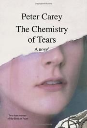 Cover art for THE CHEMISTRY OF TEARS