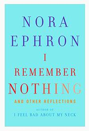 Cover art for I REMEMBER NOTHING