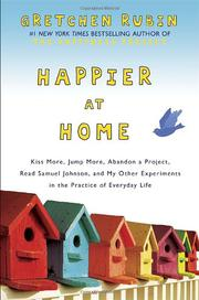 Book Cover for HAPPIER AT HOME