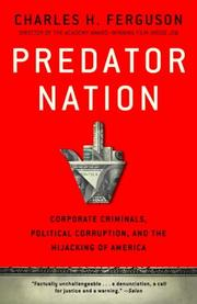PREDATOR NATION by Charles Ferguson