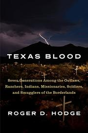 TEXAS BLOOD by Roger D. Hodge