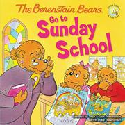 Cover art for THE BERENSTAIN BEARS GO TO SUNDAY SCHOOL