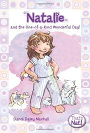 Book Cover for NATALIE AND THE ONE-OF-A-KIND WONDERFUL DAY!