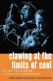 CLAWING AT THE LIMITS OF COOL by Farah Jasmine Griffin