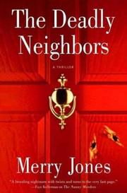 Cover art for THE DEADLY NEIGHBORS