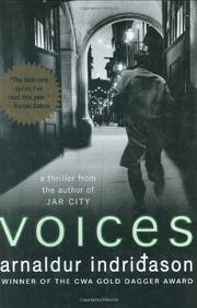 VOICES by Arnaldur Indridason
