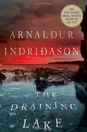 THE DRAINING LAKE by Arnaldur Indridason