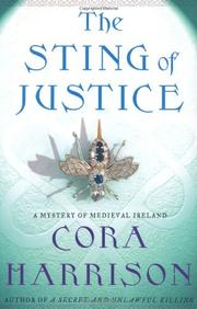 STING OF JUSTICE by Cora Harrison