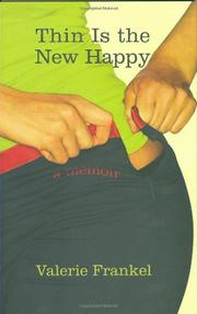 Cover art for THIN IS THE NEW HAPPY