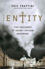 THE ENTITY by Eric Frattini