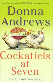 COCKATIELS AT SEVEN by Donna Andrews