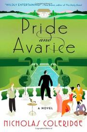 PRIDE AND AVARICE by Nicholas Coleridge