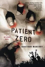 Book Cover for PATIENT ZERO