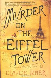 Cover art for MURDER ON THE EIFFEL TOWER