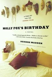 MOLLY FOX'S BIRTHDAY by Deirdre Madden