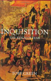INQUISITION by Toby Green
