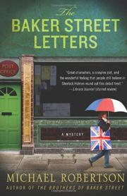 Cover art for THE BAKER STREET LETTERS