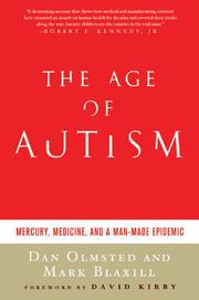 Book Cover for THE AGE OF AUTISM
