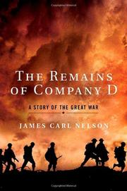 THE REMAINS OF COMPANY D by James Carl Nelson