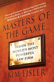 MASTERS OF THE GAME by Kim Eisler