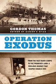 OPERATION EXODUS by Gordon Thomas