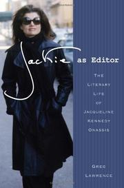 JACKIE AS EDITOR by Greg Lawrence