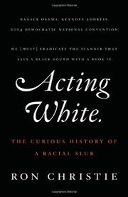 Cover art for ACTING WHITE